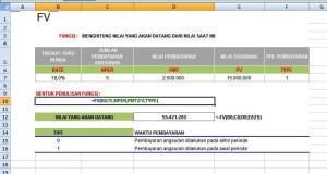 Nilai Akan Datang / Future value